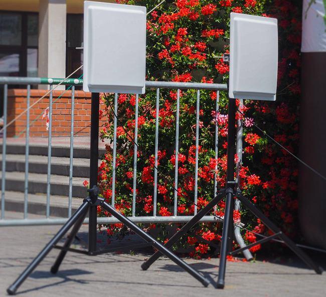 urządzenie do pomiaru czasu na zawodach sportowych RFID - anteny do pomiaru
